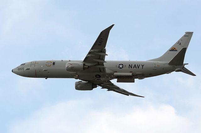 Самолет-разведчик ВМС США «Посейдон» приблизился кКрыму
