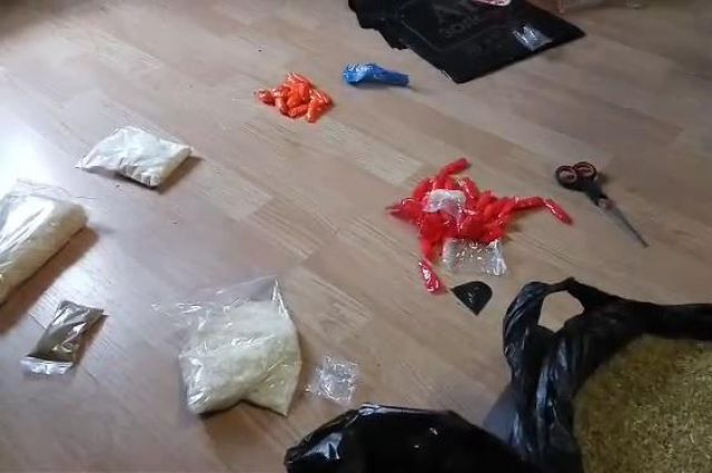 Учелябинца изъяли неменее 3 килограммов «синтетики»