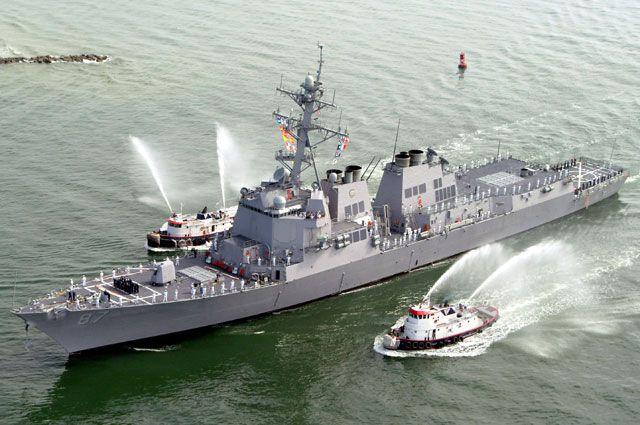 Что представляет собой американский эсминец «Мэйсон»?