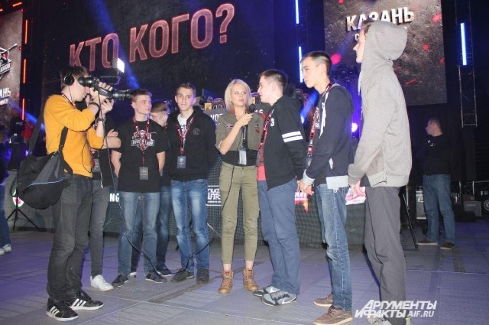 Казанская команда KBY#1 делится впечатлениями сразу после победы.