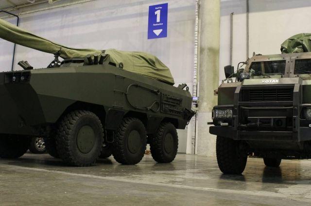 Вгосударстве Украина презентовали новейшую боевую машину