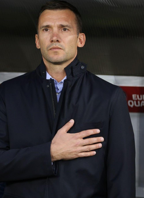 Главный тренер сборной Украины Андрей Шевченко одержал первую победу в своей тренерской карьере