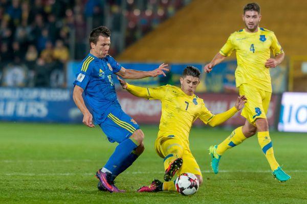 Несколько раз сборной Украины очень повезло так, как косовары чуть не забили. Кто знает, каков был бы исход матча если бы не перекладина
