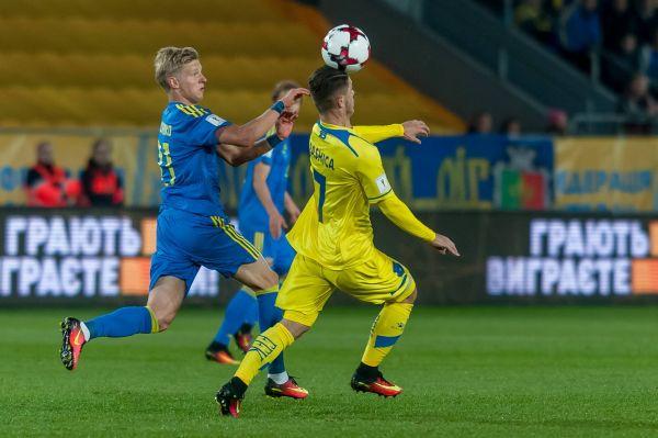 Футболисты сборной Косово время от времени пытались создавать опасные игровые моменты