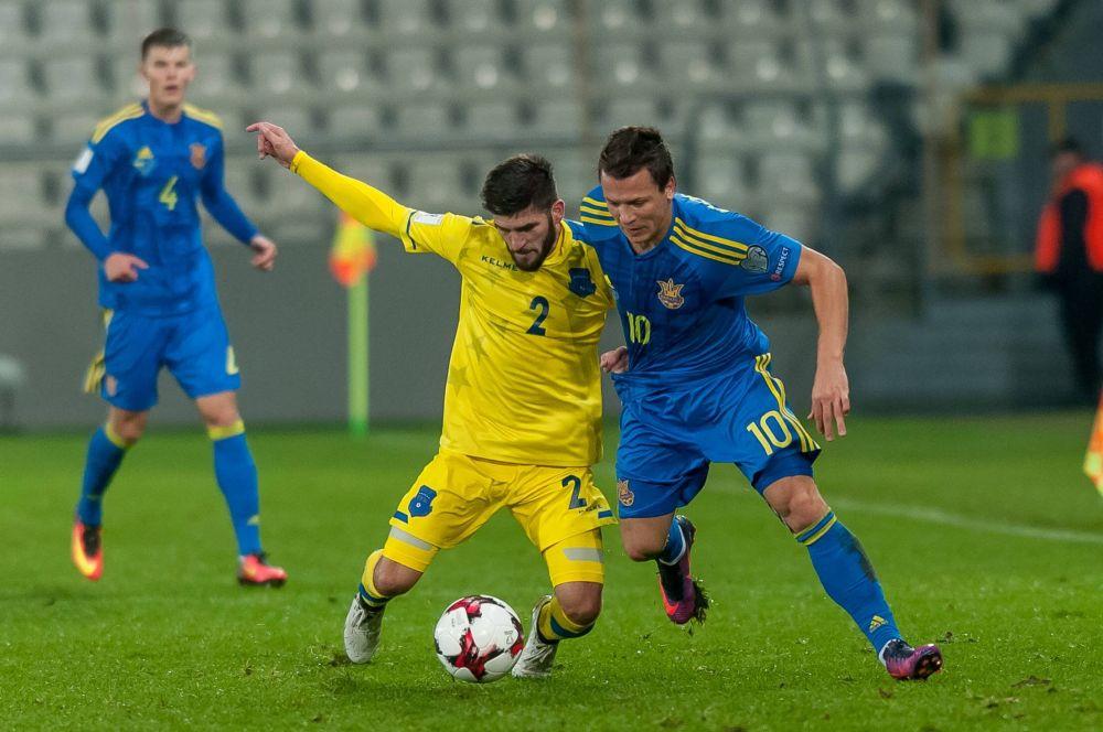 Украинцы ожидали, что косовары будут играть от обороны, но не тут то было