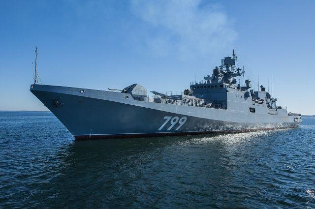 В Калининградской области завершились испытания фрегата «Адмирал Макаров».