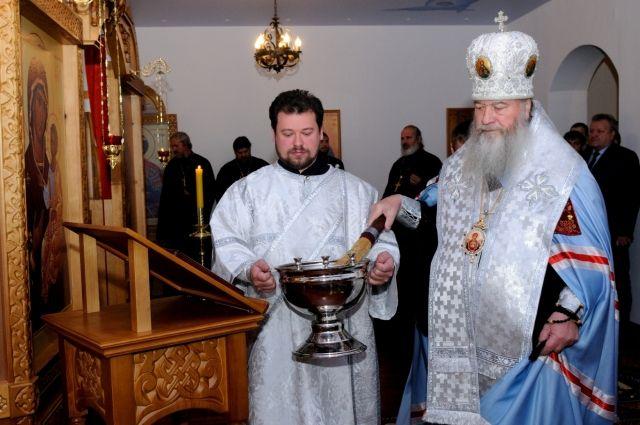 Митрополит Новосибирский и Бердский Тихон освятил храм-часовню