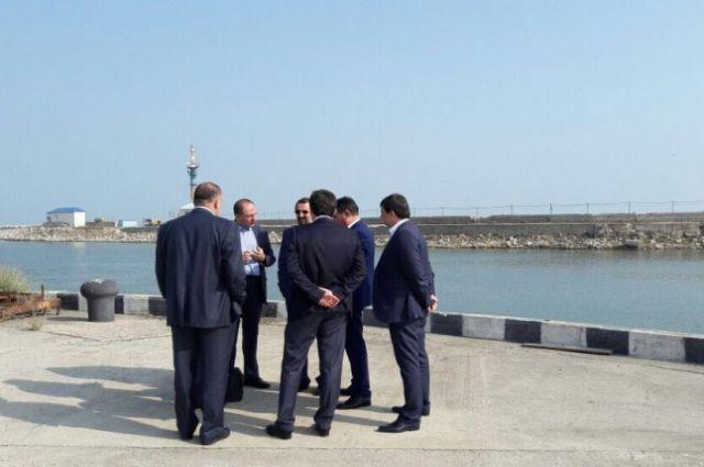 Мехди Санаи: иранские деловые люди готовы инвестировать впорт Махачкалы