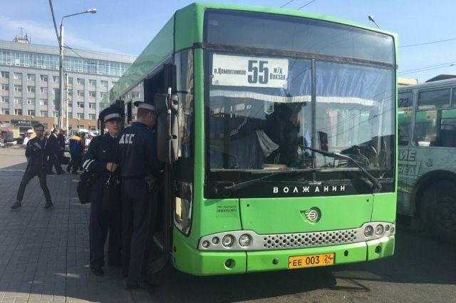 Всамом начале октября 500 красноярских маршрутчиков оштрафовали занарушения ПДД