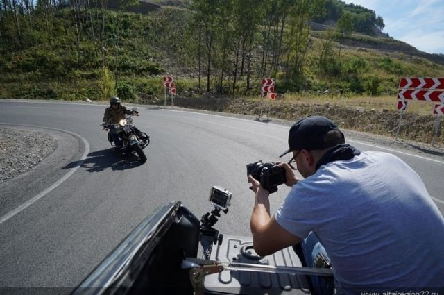 Съемки фильма Гарика Сукачева «Алтайская песня»