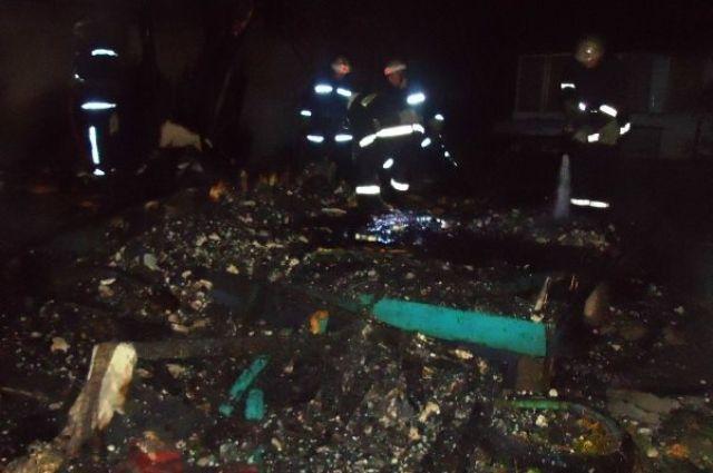 Cотрудники экстренных служб устранили пожар вкиевской академической школе гребли