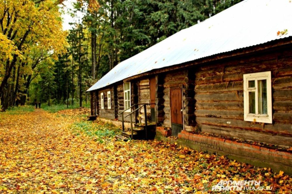 Ясная Поляна в Тульской области красива в любое время года, но особенно осенью, когда природа играет красками.