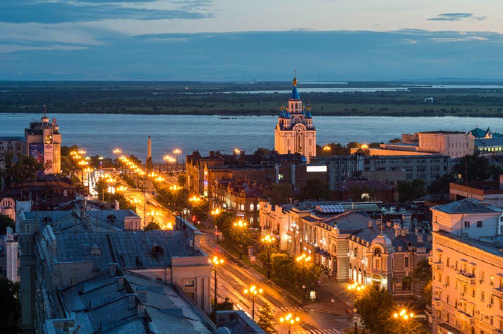 и Хабаровск.