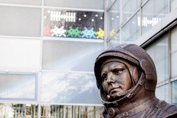 Впрочем, в Германии несколько бюстов Гагарина. Один из них находится в Европейском центре астронавтики.