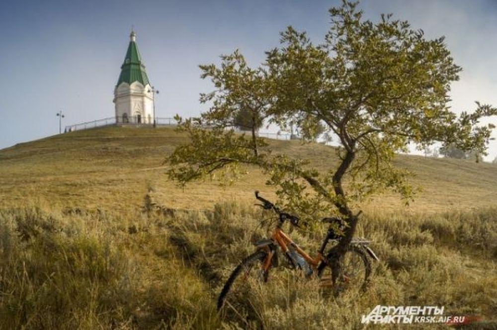 Красноярск: ещё неделя, и деревья уже станут голыми.