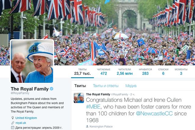Твит по-королевски. О чём пишут в своих микроблогах монархи