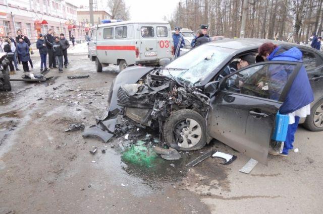 Пассажир погиб на месте происшествия.