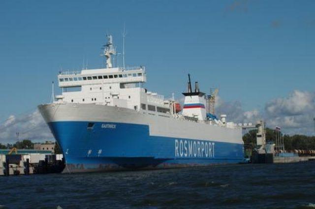 Паром «Балтийск» вернулся на линию Усть-Луга – Калининград.