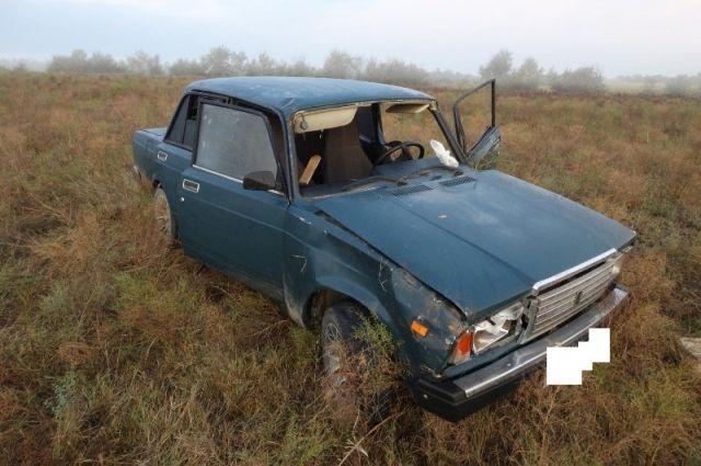 НаСтаврополье шофёр ВАЗа бросил раненого пассажира наместе ДТП