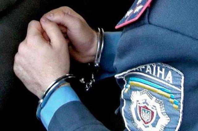 ВЧерновицкой области навзятке задержали майора милиции