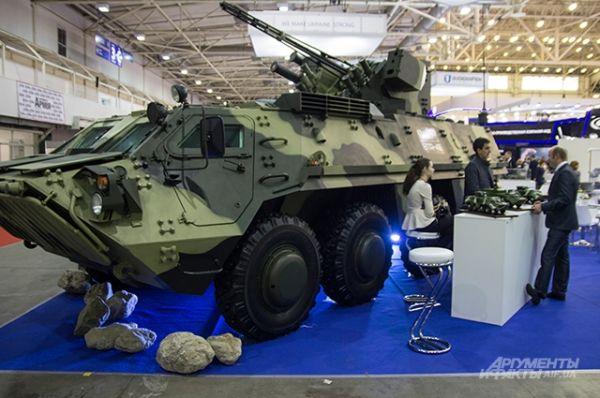 Новейшая БТР от УкрОборонПрома - BTR-4E