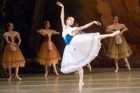 Ульяна Лопаткина в балете «Жизель».