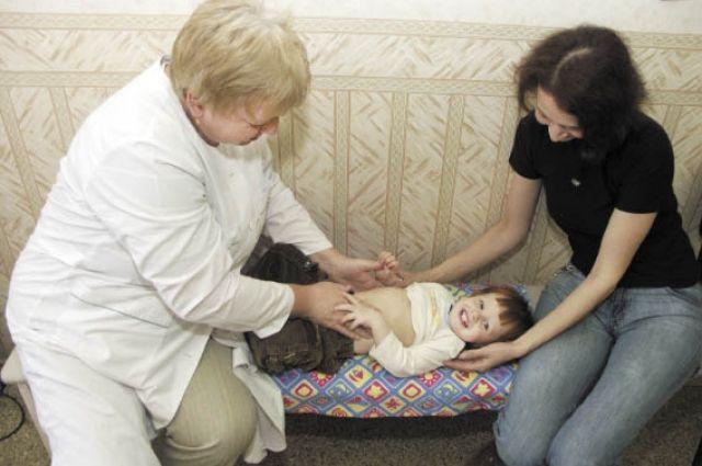 За год врачи приняли около 2тыс. маленьких пациентов.