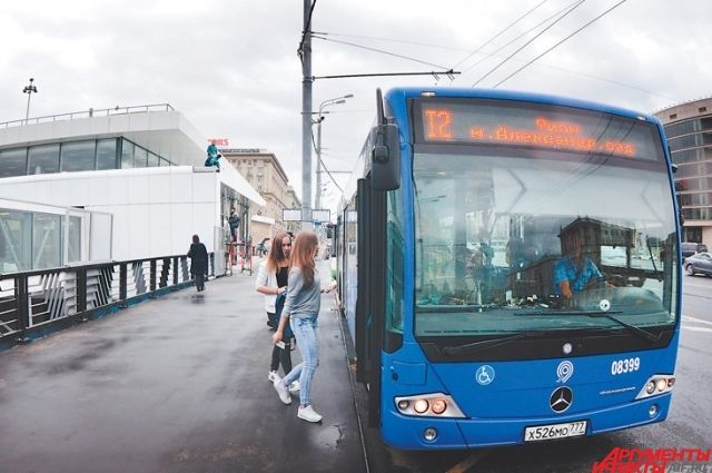 Полосы появились в центре города.