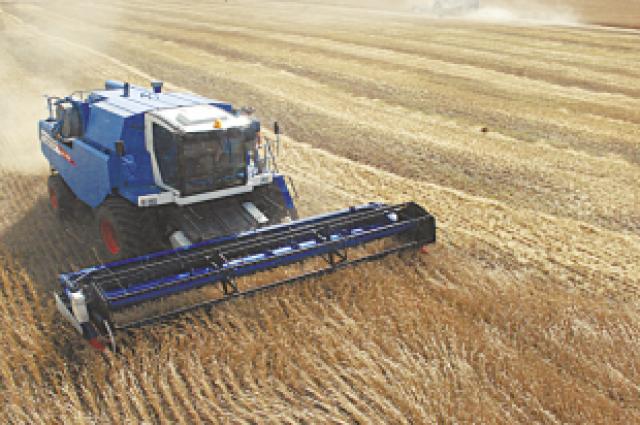 По сбору зерна край в очередной раз занимает 1 место от Урала до Тихого океана.