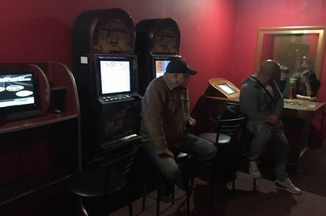 Подпольное казино в Житомирской области