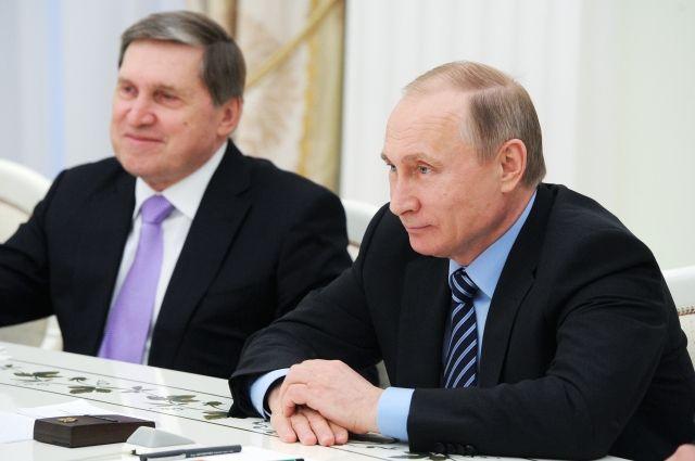 Ушаков: вадминистрации Кремля слухи объяснять непринято