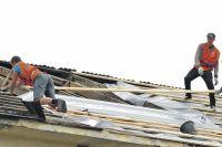 Ремонт крыш требует не столько сноровки, сколько строгого соблюдения технологии.