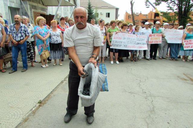 У шахтёров Гукова нет ни зарплаты, ни угля для топки частного дома.