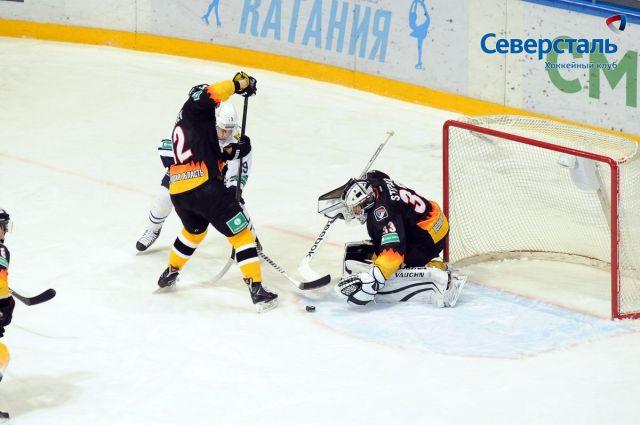 «Северсталь» вовертайме победила финский «Йокерит»