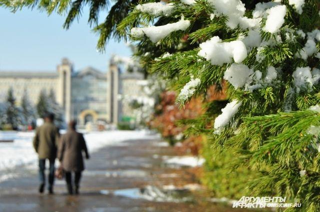 Обильный снегопад будет и на следующей неделе.