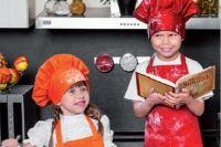 Шеф-поваром наш Влад стал вместе с Ирой Зайцевой - девочкой, прилетевшей лечиться в Москву с Сахалина.