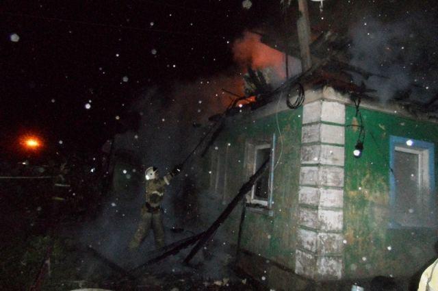 ВТуле наулице Сортировочной зажегся дом