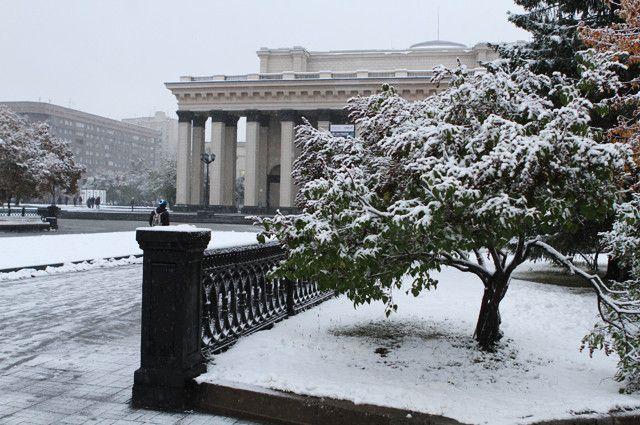 Мокрый снег и похолодание придут на выходных.
