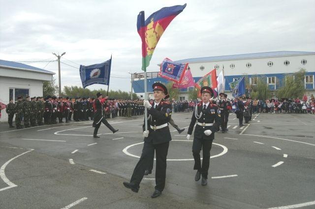 НаЕкатерининской площади Краснодара состоится парад кубанских казаков