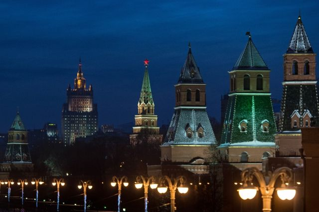 ВКремле прошёл последний вгоду развод почётного караула Президентского полка