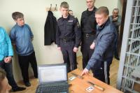 Илья Беззубов опознает орудия преступлений