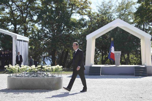 Франсуа Олланд процитировал письмо россиянки, погибшей впроцессе теракта вНицце