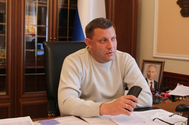 Захарченко обвинил Порошенко вотмене 'Минска'
