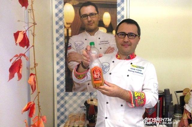 Виктор Кобилов - шеф-повар, который занимается реконструкцией блюд исконной русской кухни.