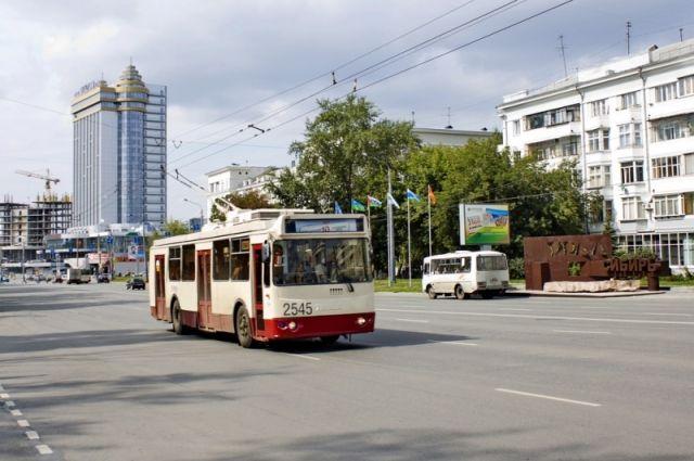 ВЧелябинске сократили интервал движения троллейбусов итрамваев
