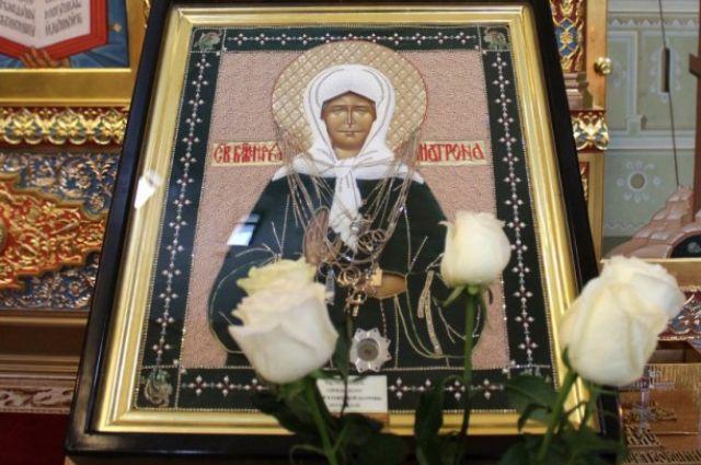 Мощи святой Матроны Московской прибудет вНижний Новгород