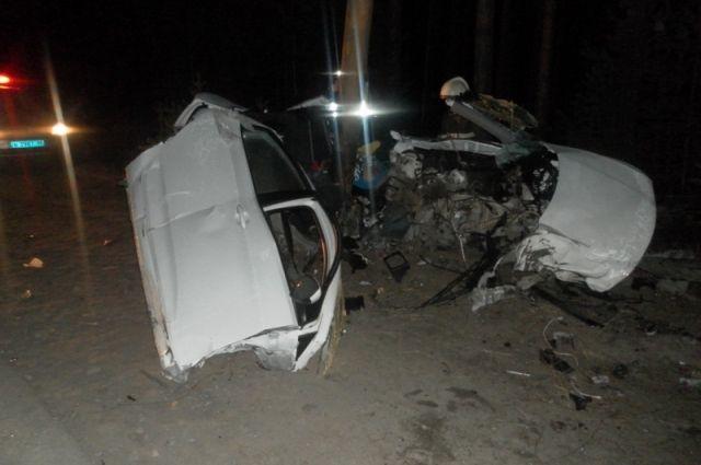 ВСоветском районе вДТП умер шофёр иномарки