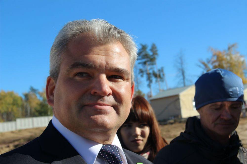 Вице-президент бельгийской компании IBA – директор представительства в России и странах СНГ Кирилл Макаренко.