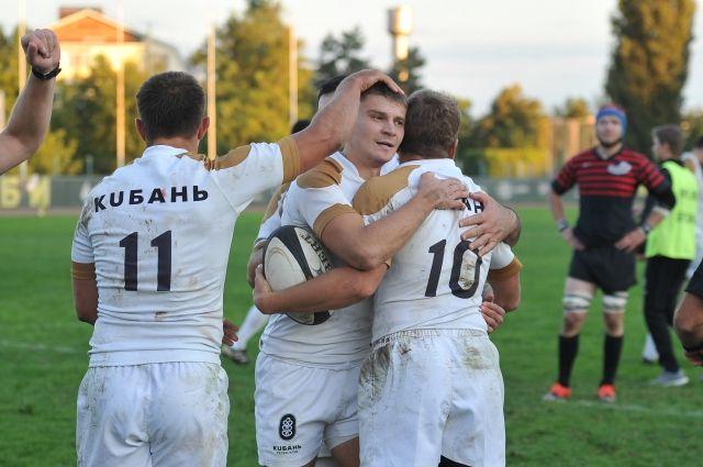 Регбийная «Кубань» вышла вполуфинал чемпионата Российской Федерации порегби-7