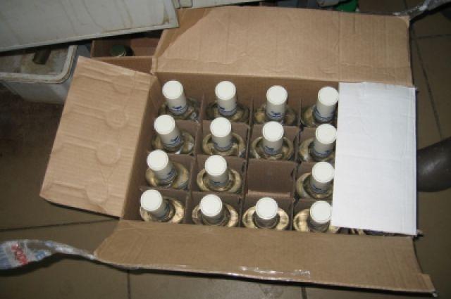 ВРостовской области полицейские арестовали цех ссамопальным спиртом